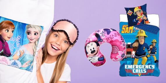 Disney obliečky a vankúše/Slovensko