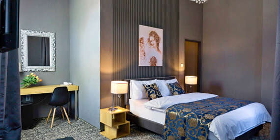 Stylový odpočinek s polopenzí v butikovém hotelu Da Vinci v Mariánských Lázních, s možností wellness a platností do prosince 2021/Mariánské Lázně