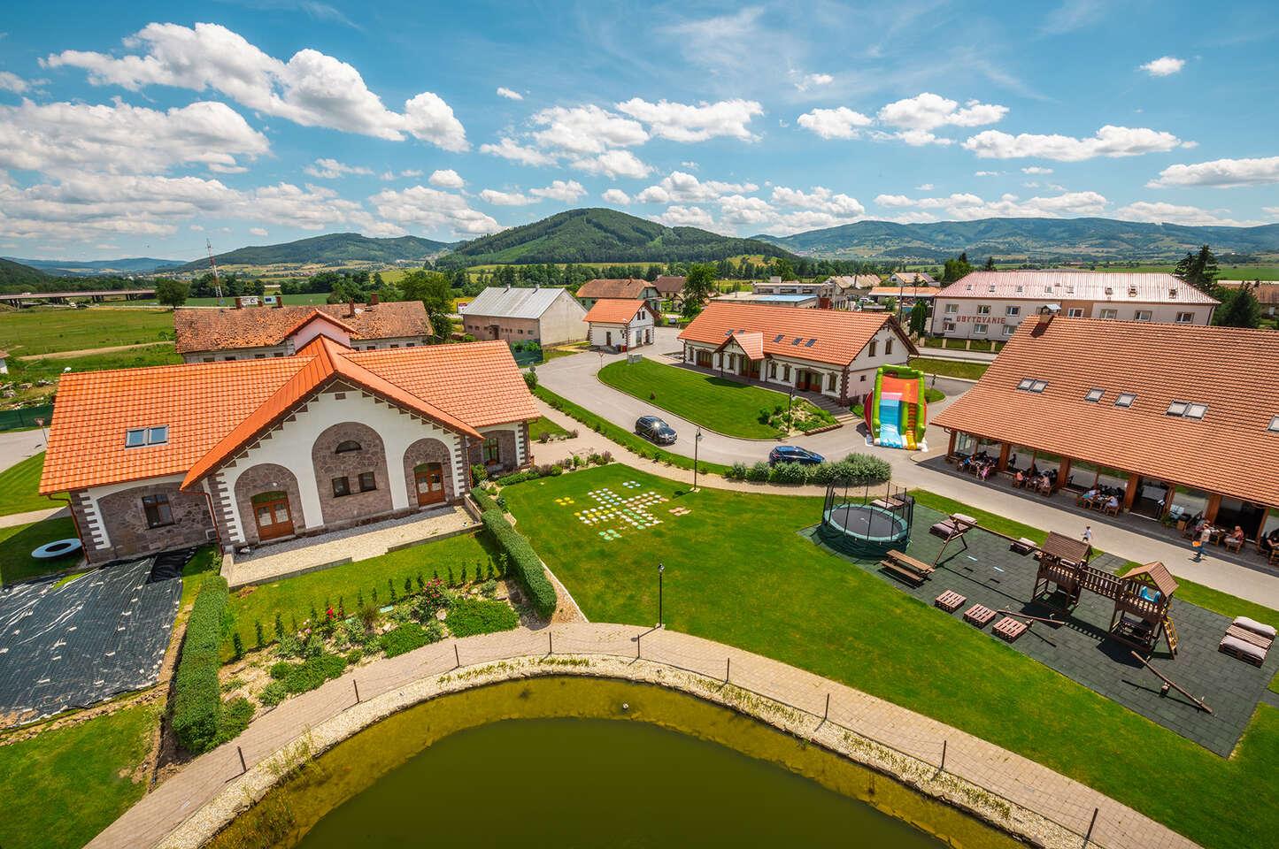 NOVINKA: Wellness dovolenka s polpenziou v prekrásnom Masarykovom dvore na Podpoľaní, platnosť až do marca 2021