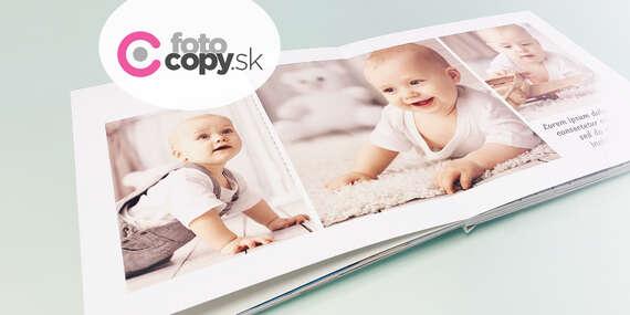Exkluzívna novinka - fotokniha sextra hrubými stranami a plochou väzbou (Lay-Flat)/Slovensko