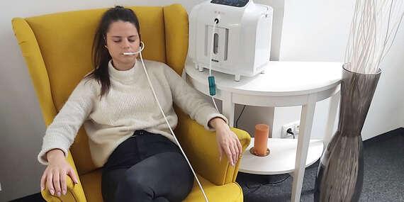 Nadýchnite sa čistého kyslíka - oxygenoterapia s 95 % kyslíkom/Bratislava - Staré Mesto