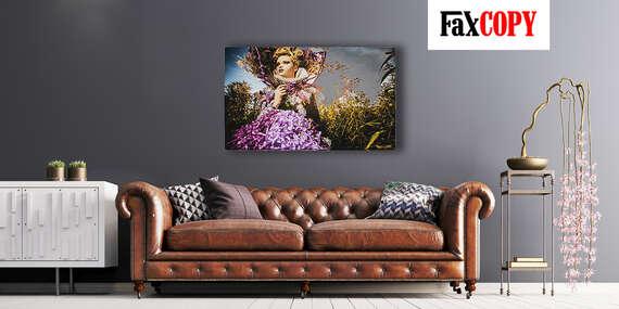 Prémiový obraz na kvalitnom plátne v krásnych farbách z vlastnej fotografie so skrytým rámom s osobným odberom až v 40 predajniach FaxCOPY zdarma/Slovensko