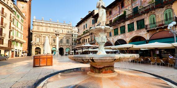 Valentýn v Benátkách a Veroně s návštěvou Sirmione, ubytováním se snídaní a sektem do páru/Itálie Benátky -