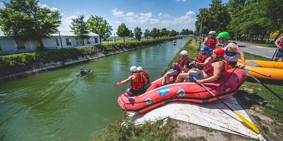 Rafting na Divokej Vode / Bratislava – Čunovo