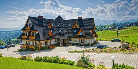 Letná dovolenka v poľskom hoteli Redyk*** s polpenziou a voľným vstupom do SPA / Poľsko - Zab v Zakopanom