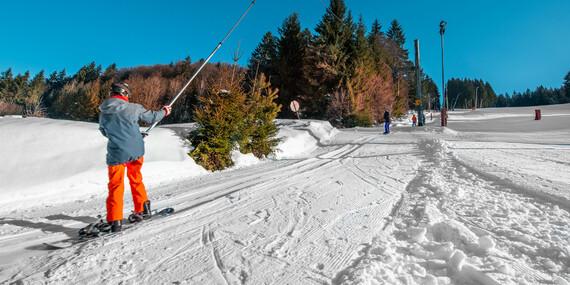 Celodenní skipas do střediska SKI Čertov se 7 tratěmi, ze kterých si vybere každý/Slovensko - Lazy pod Makytou