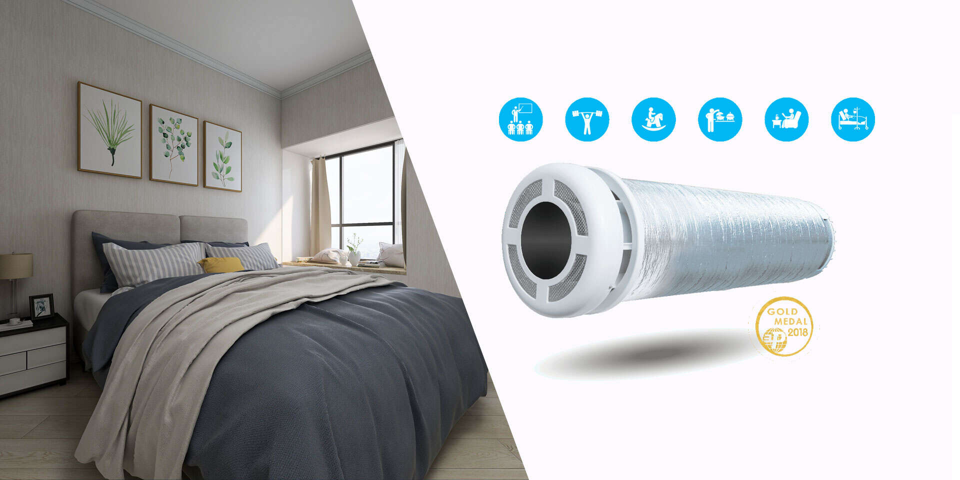 Komfortné a zdravé bývanie - rekuperačné jednotky PRANA pre regulované vetranie, zníženie vlhkosti a pre úsporu energií na vykurovanie