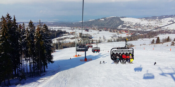 Skipasy do oceňovaného strediska Rusin-Ski v Poľsku aj cez víkendy bez doplatku/Poľsko - Bukowina Tatrzanska