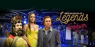 V interaktívnom svete Wax Museum of Legends by Grévin budete mať známe osobnosti na dosah