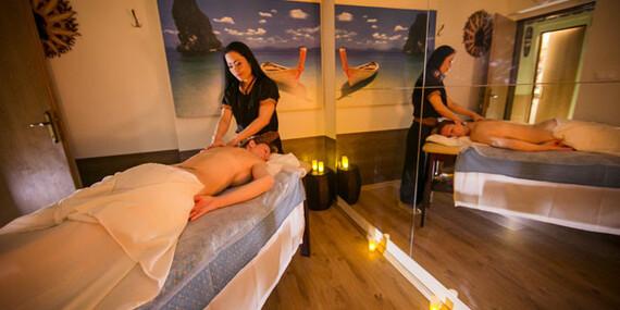 Thajské valentínske kráľovské balíčky plné relaxu s masážami a procedúrami/Bratislava - Dúbravka