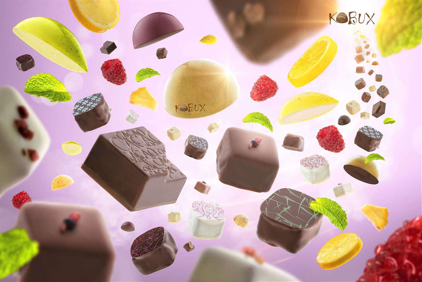 Veľkonočná výslužka, priamo k vám domov - ručne robené pralinky a tyčinky z pravej belgickej čokolády