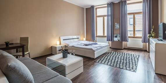 Komfortné izby alebo apartmány penziónu TIME*** priamo v centre Prešova / Prešov