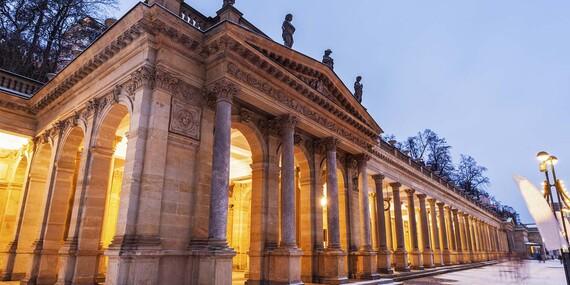 Hotel Krásná Královna**** v Karlových Varech se vstupem do Alžbětiných lázní, snídaněmi a večeří / Karlovy Vary