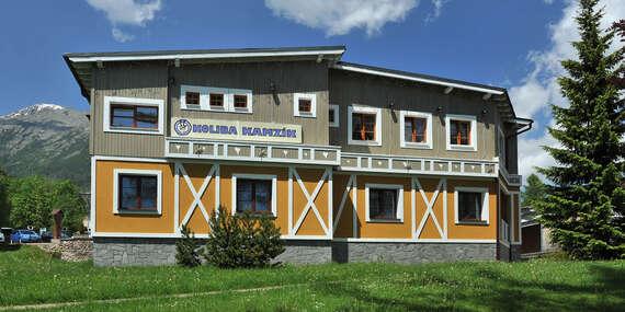 Dovolenka pod Tatrami v Kolibe Kamzík/Vysoké Tatry – Starý Smokovec