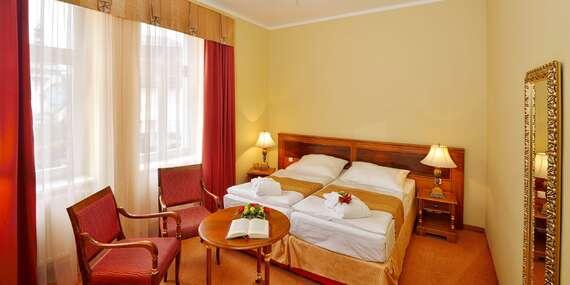 Mimořádná a časově limitovaná nabídka: Hotel Continental**** v Mariánských Lázních s polopenzí, wellness a množstvím procedur/Mariánské Lázně