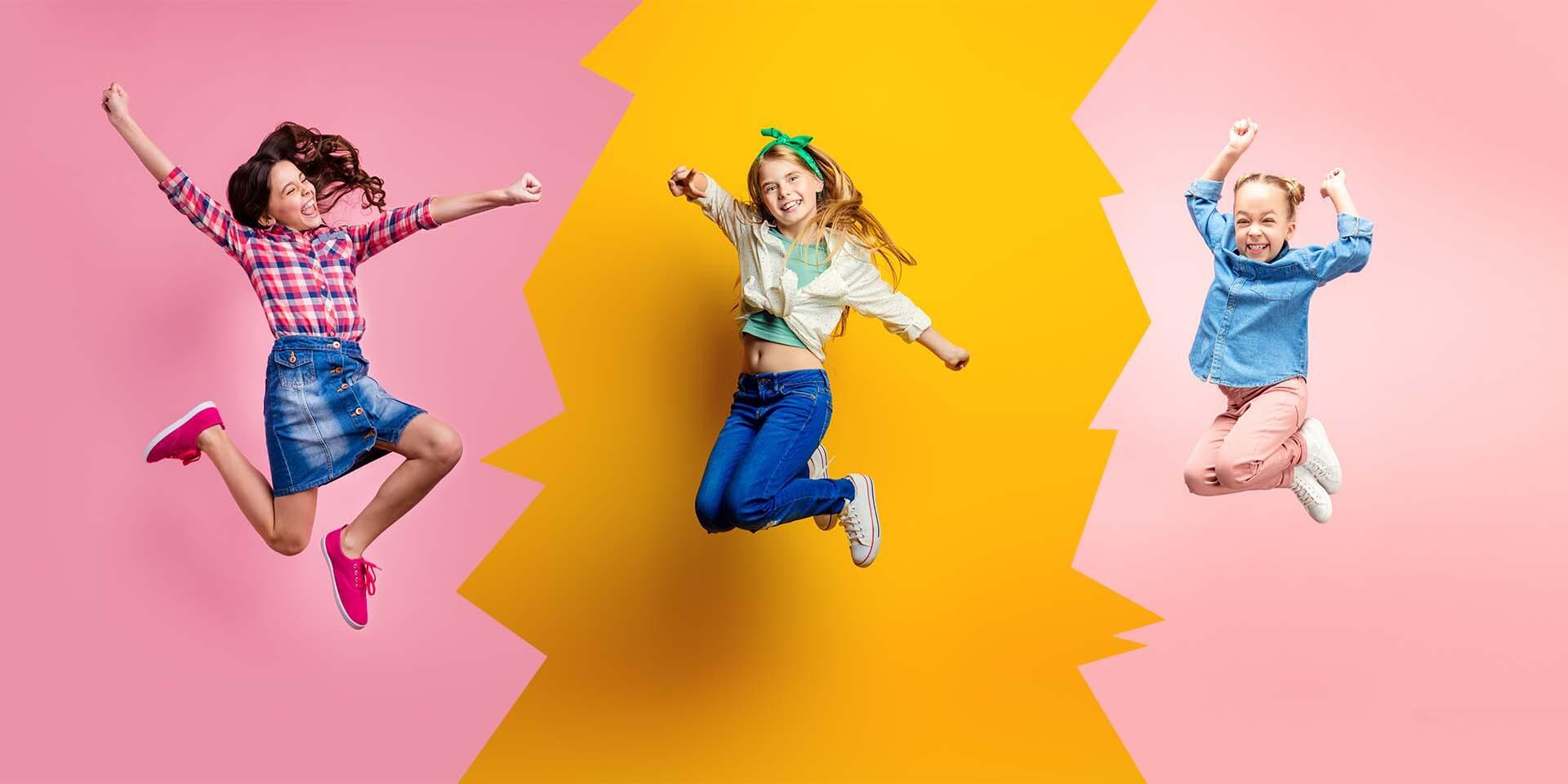 Jumping pre deti v Sunflower Studio pre rok 2020