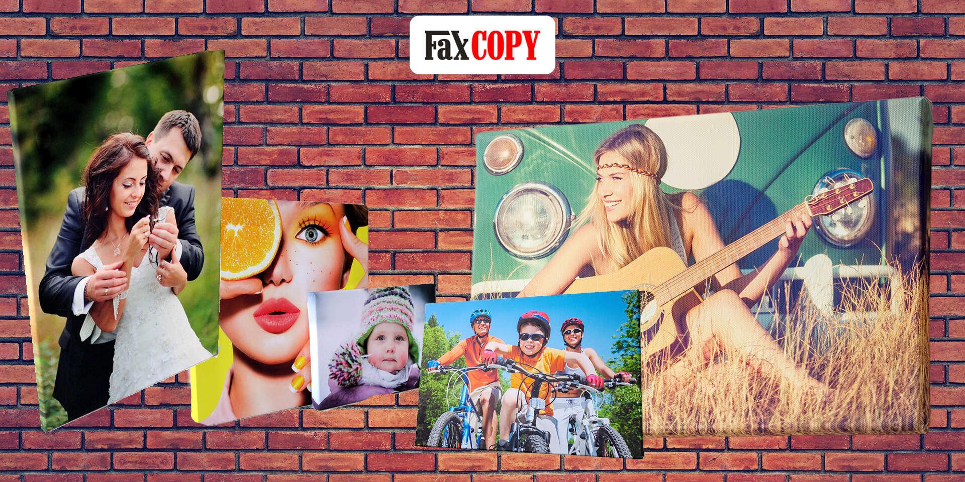 Štýlový obraz na plátne z vlastnej fotografie s osobným odberom ZADARMO až v 40 predajniach FaxCOPY