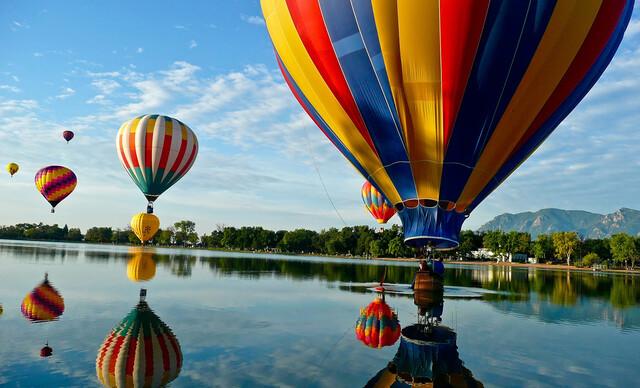 Nezabudnuteľný let balónom