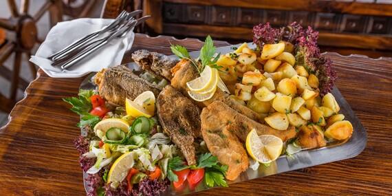 Misa plná rýb pre 2 – 3 osoby v Oáze pri Dráždiaku/Bratislava – Petržalka
