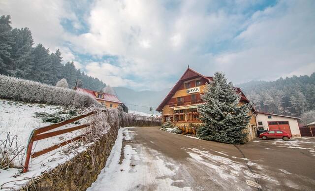 Zima v panenskej prírode v Horskom hoteli Gejdák*** s polpenziou a wellness