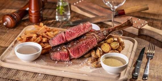 La Boo Restaurant: Šťavnatý tomahawk steak pre 2 osoby / Bratislava – Ružinov