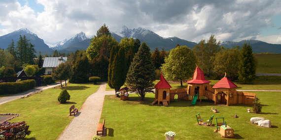 VÍKENDY PLNÉ ANIMÁCIÍ v hoteli Lesana*** s výhľadom na Lomnický štít, wellness, polpenziou a detským rajom Kinderland/Vysoké Tatry – Stará Lesná