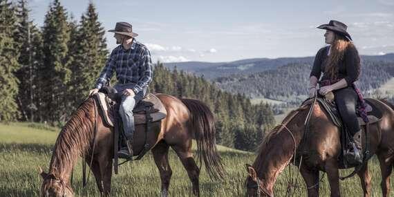 Krásny domček alebo maringotka na oravskom ranči s jazdou na koni/Novoť - Orava