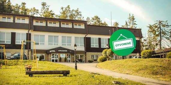 Bezpečná dovolenka v horskom hoteli Hrádok***, kde vás bude obklopovať len príroda a les / Jelšava - Ochtiná