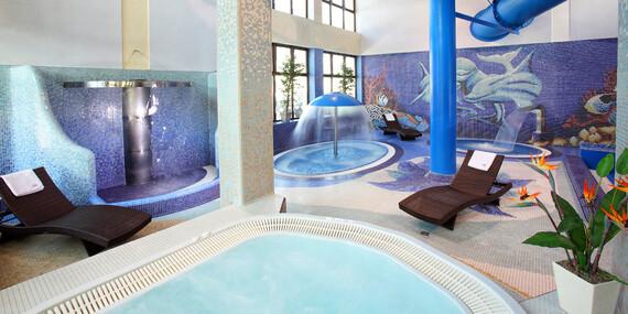 Hotel Klimek**** blízko 2 ski centier s polpenziou a vlastným aquaparkom/Poľsko - Muszyna