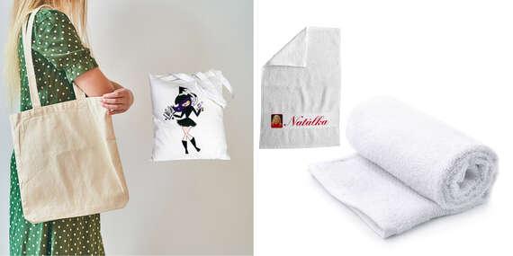 Froté uterák alebo plátená taška s potlačou od FaxCOPY/Slovensko