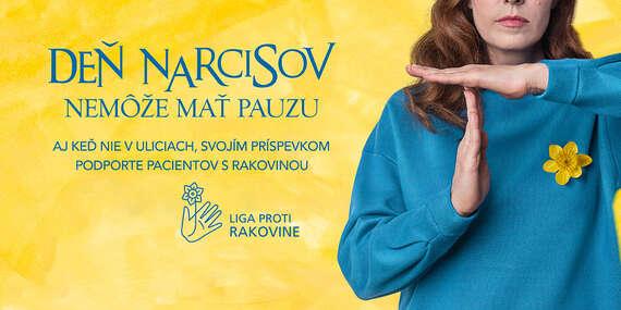 Deň narcisov nemôže mať pauzu - získajte virtuálny narcis a prispejte na dobrú vec/Liga proti rakovine