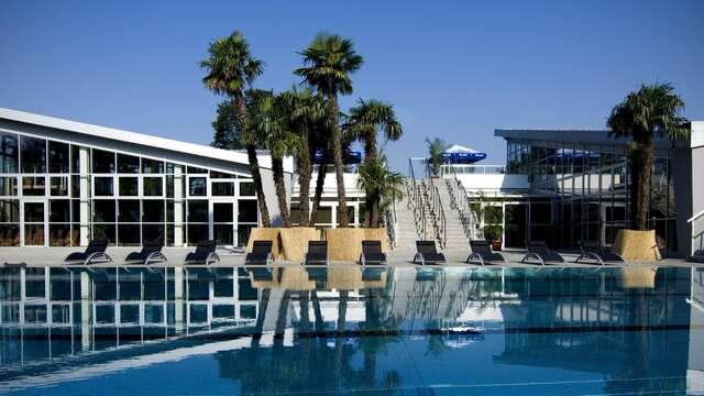 Oddych v Turčianskych Tepliciach so vstupom do aquaparku v Hoteli Rezident*** s procedúrami a polpenziou.