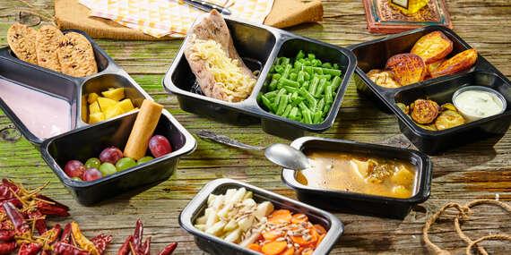 Fitkrabičky na týždeň s donáškou domov – 5 zdravých jedál denne bez varenia/Bratislava