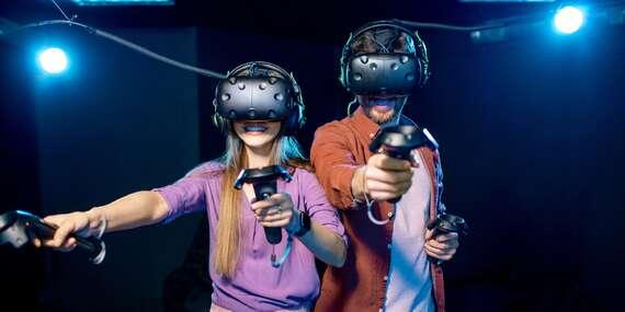 Jedinečná úniková hra ve virtuální realitě pro 2 osoby na Praze 5/Praha 5