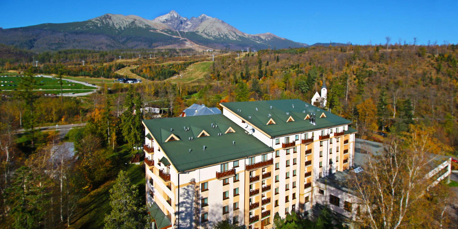 Hotel SLOVAN*** Tatranská Lomnica – dovolenka s wellness v srdci Vysokých Tatier