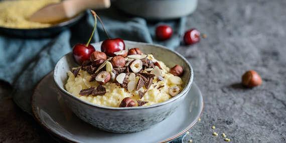 Zdravé raňajkové kaše – gaštanové, ovsené, pšenové, ryžové, kukuričné aj kakaové/Slovensko