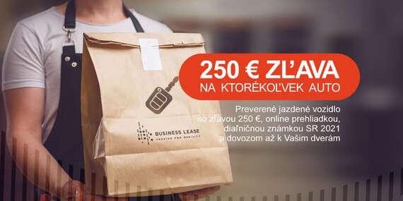 Preverené jazdené autá po operatívnom leasingu od Business Lease - vozidlo vám dovezú až domov + diaľničná známka SR 2021 zadarmo/Slovensko