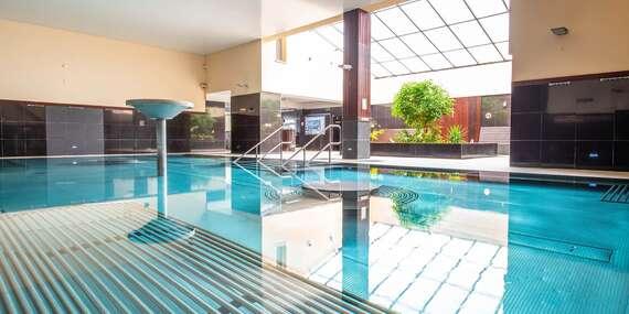 Úplne nový hotel v známych Termáloch Malé Bielice s polpenziou a neobmedzeným vstupom do bazénového komplexu/Malé Bielice