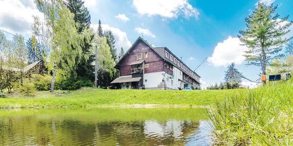 Pohodová dovolená v hotelu Maxov v krajině Jizerských hor s polopenzí, vstupem do sauny pro celou rodinu a platností do prosince 2020 / Jizerské hory - Josefův Důl