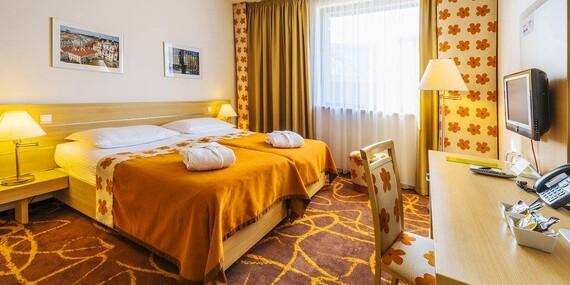 Pražský Iris Hotel Eden**** pre milovníkov športu, len 15 minút MHD od historického centra/Praha