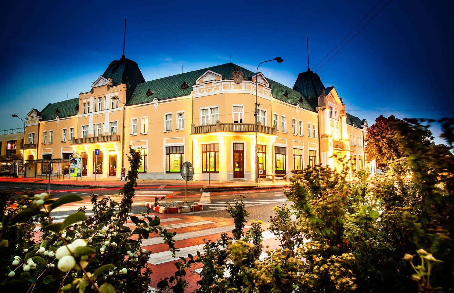 Pobyt s polpenziou v historickom hoteli Lev*** s možnosťou využitia wellness - priamo v centre mesta