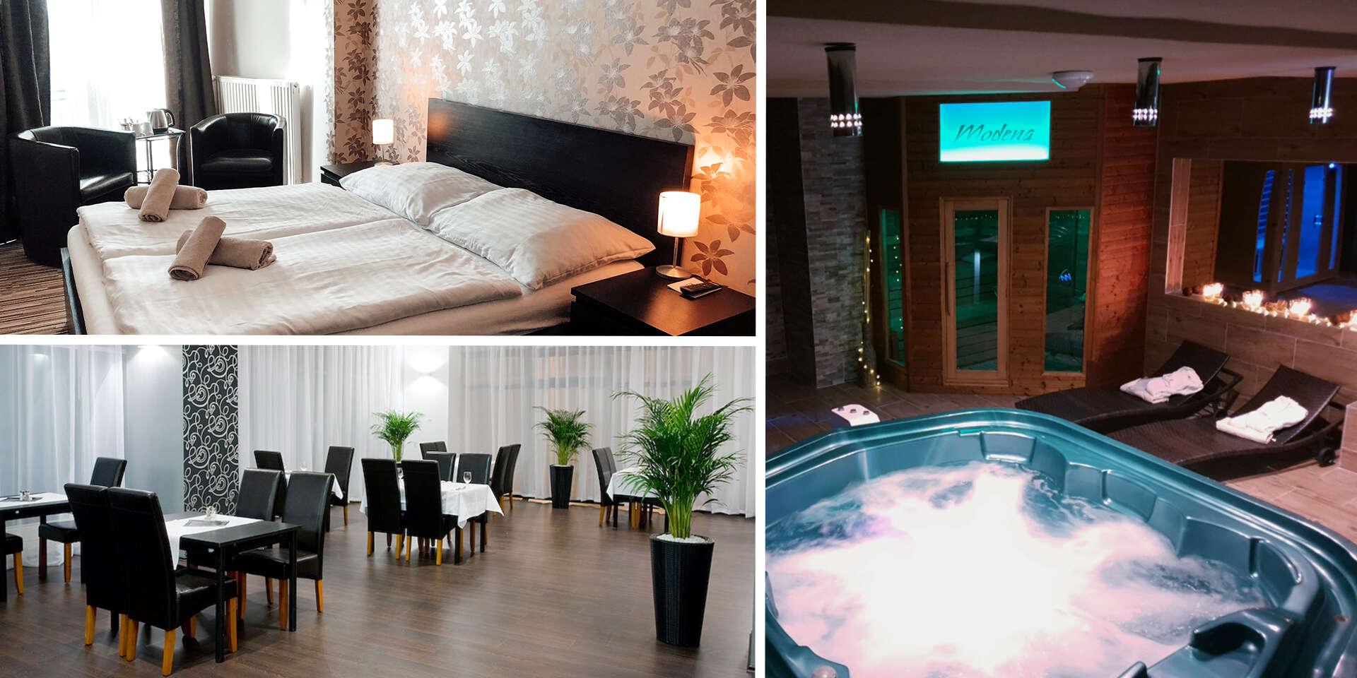 Dovolenka s panoramatickým výhľadom na Bratislavu a súkromným vstupom do wellness v hoteli Modena***