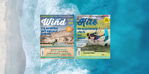 Exkluzívne 2-ročné predplatné časopisu Windsurfer/Kitesurfer + kalendáre na 2 roky/Slovensko
