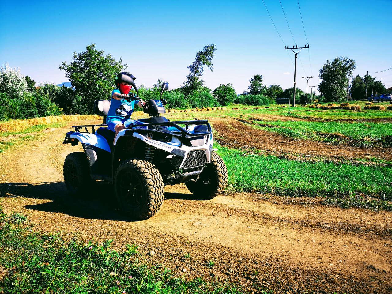 Safari jazda na elektrických štvorkolkách v Košiciach