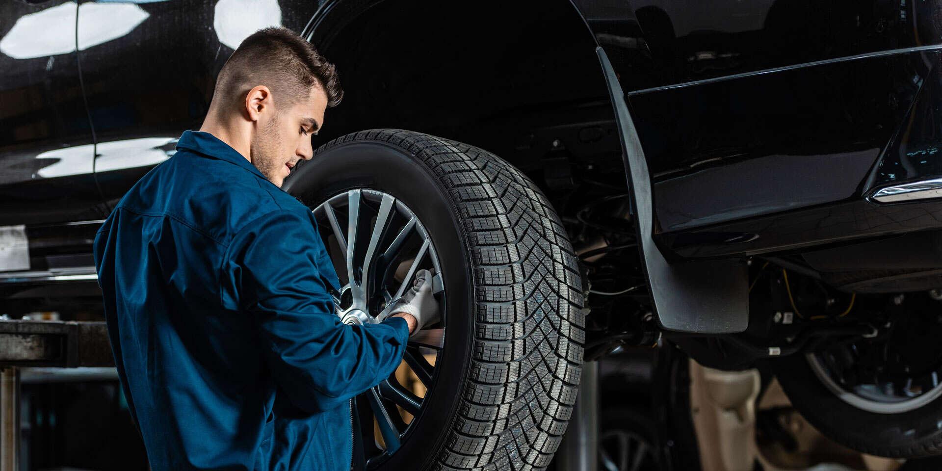 Kompletné prezutie vozidla s vyvážením pneumatík