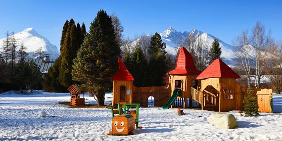 Tatry s novým wellness, polpenziou a výhľadom na Lomnický štít/Vysoké Tatry – Stará Lesná