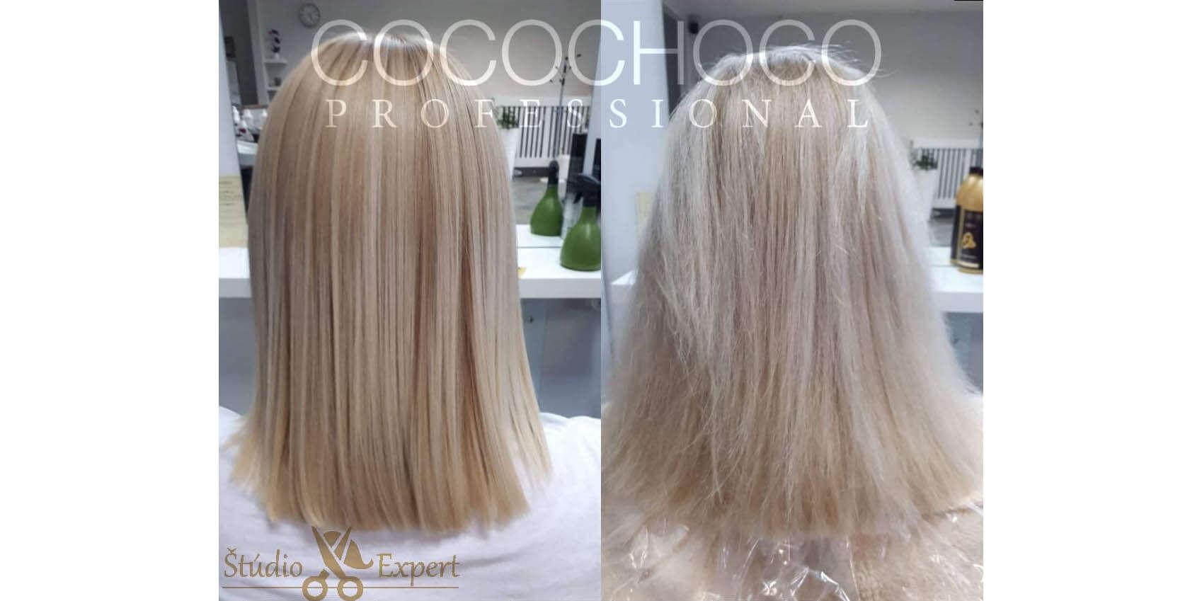 Brazílsky keratín Cocochoco – krásne, narovnané a ozdravené vl...