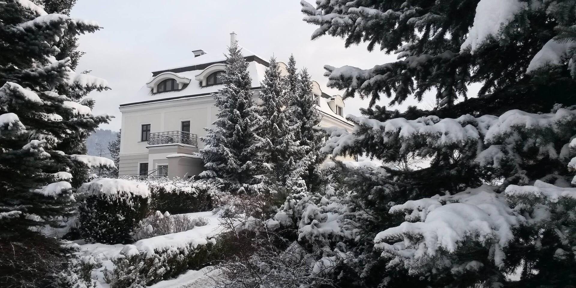 Čarovná zima v historických priestoroch hotela Villa Nečas****