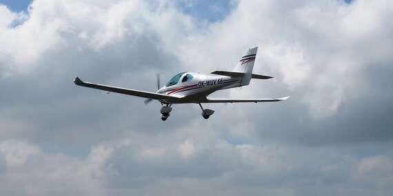 Pilotem na zkoušku! Vyhlídkový let v délce až 30 minut kamkoliv po celé ČR a EU/Příbram