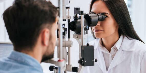 Kompletné vyšetrenie zraku v luxusnej očnej optike DUOS so zľavou na okuliare/Bratislava - Staré Mesto (Eurovea)
